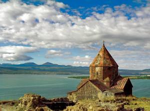 Армения. Озеро Севан.