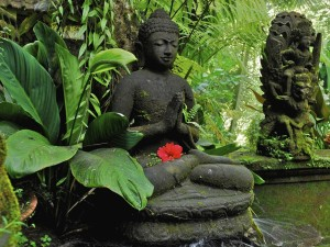 Индонезия. Статуя (мурти).