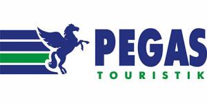 Пегас туристик логотип