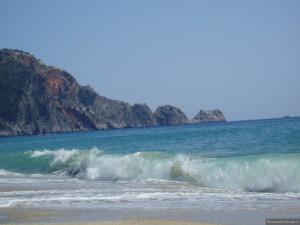 Аланья пляж
