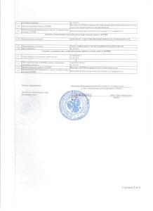 Документы ЕГРИП. Выписка страница 2