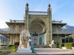 Воронцовский дворец. Алупка. Крым
